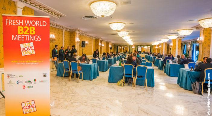 FRUITIMPRESE E ITALIA ORTOFRUTTA PARTNER DEL B2B INTERNAZIONALE THE ROME TABLE