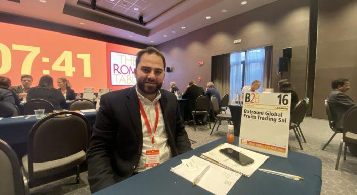 """IL MEDIO ORIENTE A THE ROME TABLE: """"CREDIAMO NELL'ORTOFRUTTA ITALIANA"""""""