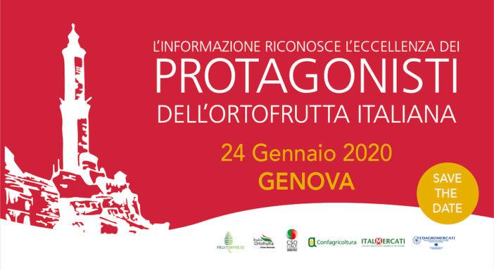 I PROTAGONISTI DELL'ORTOFRUTTA ITALIANA IN VETRINA A GENOVA