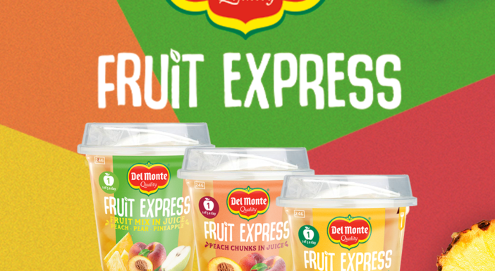 "DEL MONTE, ACCORDO CON CERRETO PER TRE NUOVE REFERENZE ""ON THE GO"""