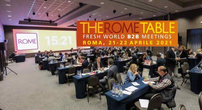 THE ROME TABLE, DATE AGGIORNATE: SI TERRÀ IL 21 E 22 APRILE 2021