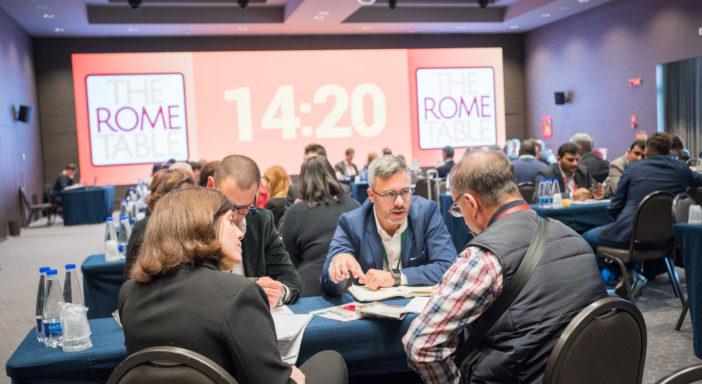 APERTE LE ISCRIZIONI A THE ROME TABLE. CONFERMATE LE DATE: 11-12 NOVEMBRE 2021